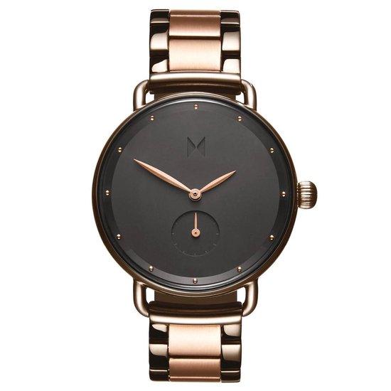 MVMT Bloom D-FR01-TIRG – Horloge – Gunmetal/Rose – Staal – 36mm