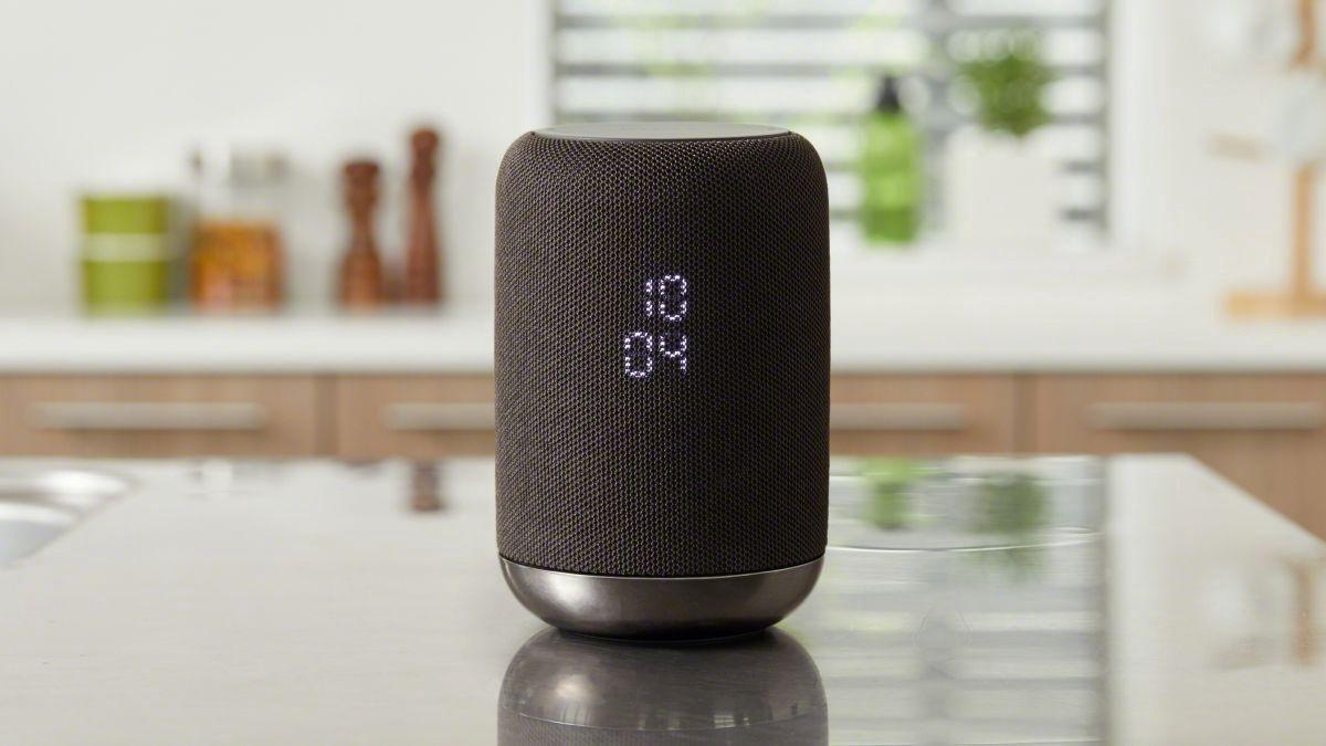 Sony LF-S50GB -Draadloze speaker met ingebouwde Google Assistant - Zwart