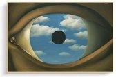 Rene Magritte Poster 10 - 60x80cm Canvas - Multi-color