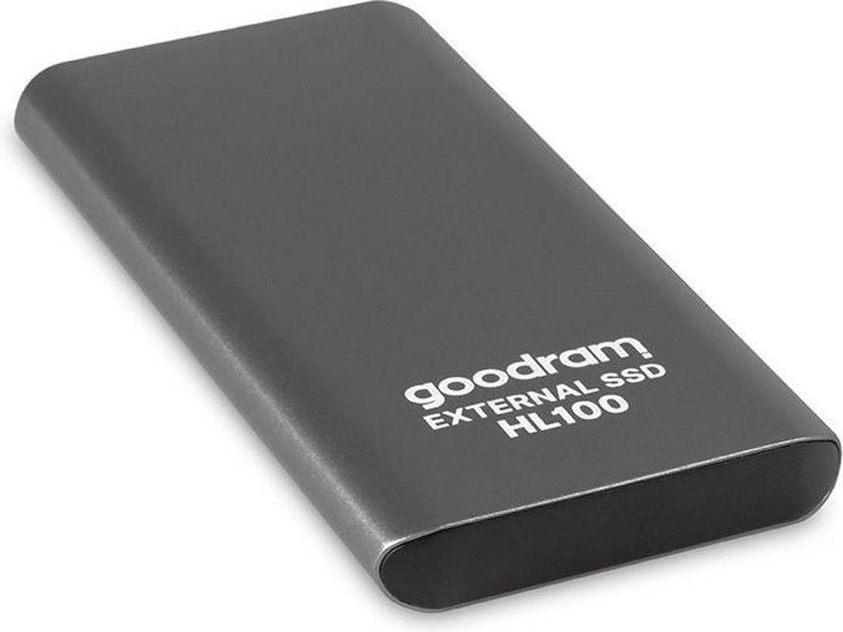 Goodram External SSD SSDPR-HL100-02T, 2TB + kabel USB TYPE-C 3.2 Gen2 (internal SATA 6 GBBS)