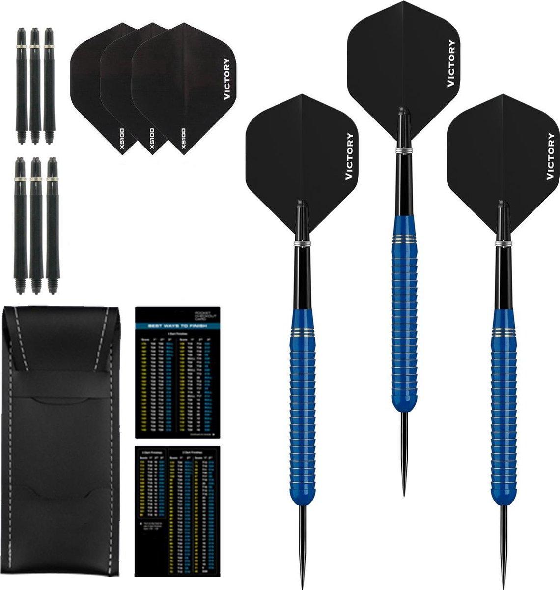 Dragon Darts Blue Shark - dartpijlen - dart shafts - dart flights - dartpijlen 24 gram