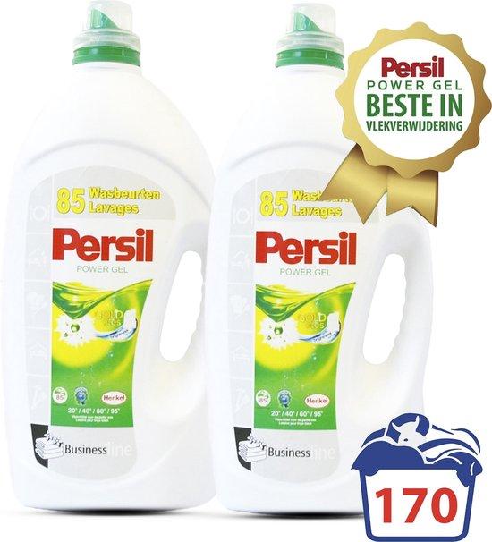 Persil ® Power Gel - 11,2 L - XXL Voordeelverpakking - 170 Wasbeurten - Goedkoopste Per Wasbeurt - Persil wasmiddel - Wasmiddel - Wasverzachter - Wasmiddel Voordeelverpakking - Vloeibaar wasmiddel