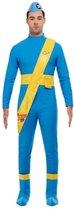Thunderbirds Scott & Virgil Deluxe Costume Blue M
