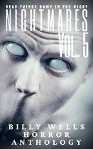 Omslag Nightmares- Volume 5- A Billy Wells Horror Anthology