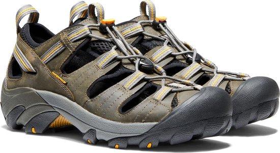 Keen Sandalen - Maat 44.5 - Mannen - olijfgroen - grijs - geel