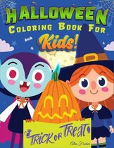 Halloween Coloring Book For Kids!