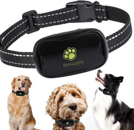 PetSupply Anti blafband- Anti Blaf Apparaat - Honden Halsband - Diervriendelijk - Zonder Schok - Voor Grote en kleine honden.