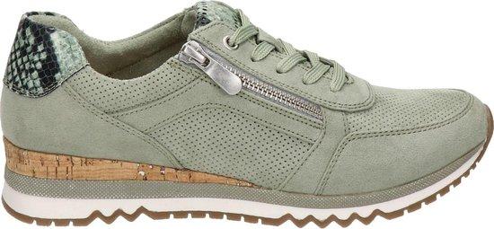 Marco Tozzi dames sneaker – Groen – Maat 40