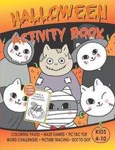 Halloween Activity & Coloring Book