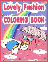 Lovely Fashion Coloring Book