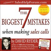 Boek cover 7 Biggest Mistakes When Making Sales Calls, The van David Ryder