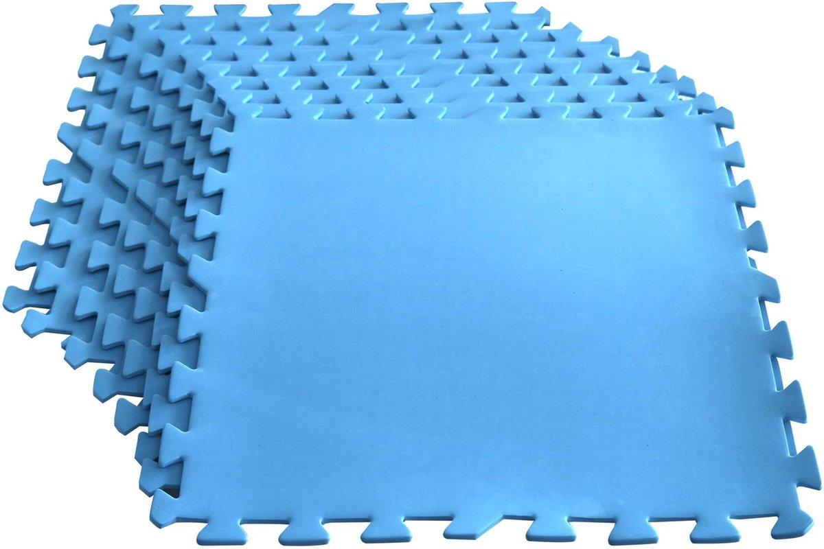 Zwembadtegels - Beschermmat voor zwembadbodem 50 x 50 cm