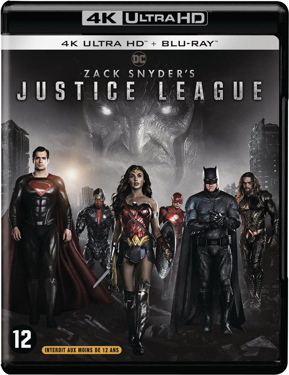 Zack Snyder's Justice League (4K Ultra HD Blu-ray)-
