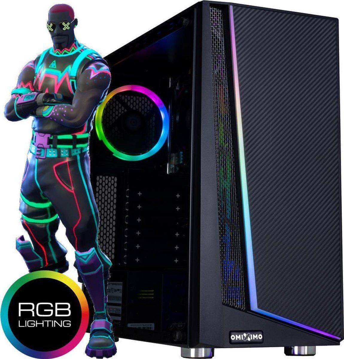 omiXimo| Gaming PC | Intel Geforce GTX1030  | 8 GB Ram | 240 GB SSD | Fortnite 144 FPS