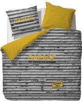 Covers & Co Garage Dekbedovertrek - Lits-jumeaux - 240x200/220 cm - Geel