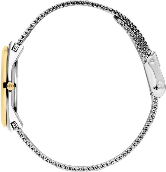 Danish Design Steel horloge  - Zilverkleurig