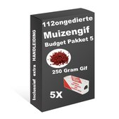 Muizengif muskil pakket 5 (250 gram Gif)