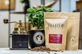 Roasted Beans   Mokka Djimmah   Vers gebrande koffiebonen   100% arabica   Heel geschikt als espresso koffie   250 GR. ca. 32 kopjes