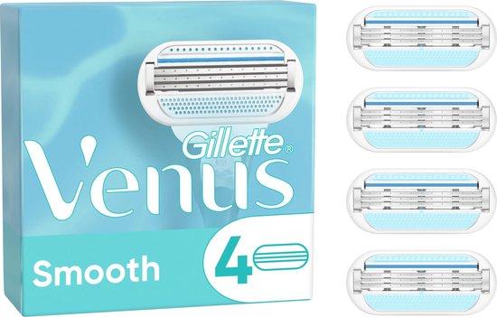 Gillette Venus Smooth Scheermesjes Voor Vrouwen - 4 Navulmesjes