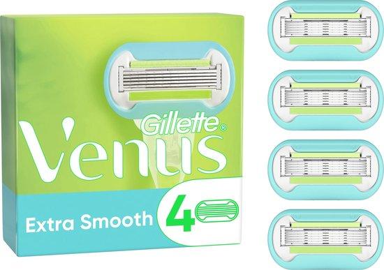 Gillette Venus Extra Smooth Scheermesjes Voor Vrouwen - 4 Navulmesjes