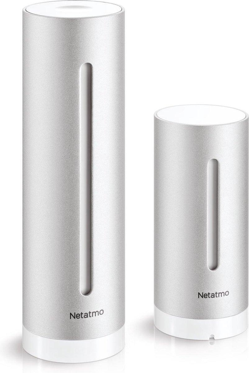 Netatmo NWS01-EC Weerstation - Bediening via app - Digitaal - CO-2 meter