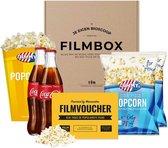 Filmpakket met cola - je eigen thuisbioscoop! - Filmbox - Cadeaupakket