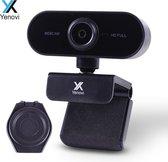 Yenovi Webcam - Webcam voor PC met USB en Microfoon - Inclusief Webcam Cover - Full HD 1080p - Geschikt voor Windows en Mac