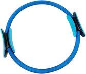 AJ-Sports Pilates Ring - Yoga ring - Fitness ring - Magic circle - Weerstandsring - Yoga wiel - Yoga - Pilates - Blauw