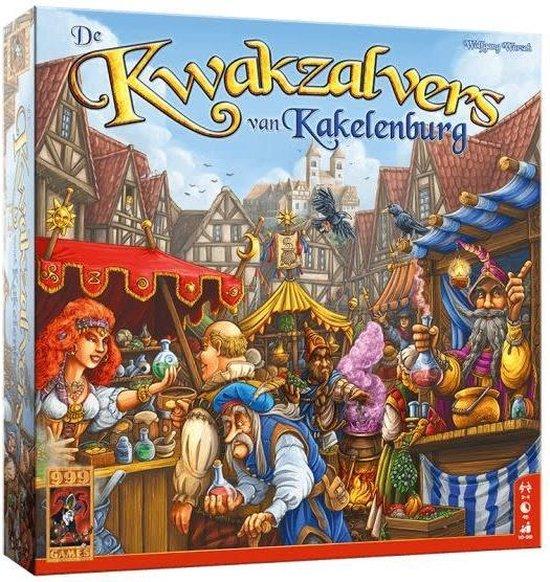 De Kwakzalvers van Kakelenburg - Bordspel