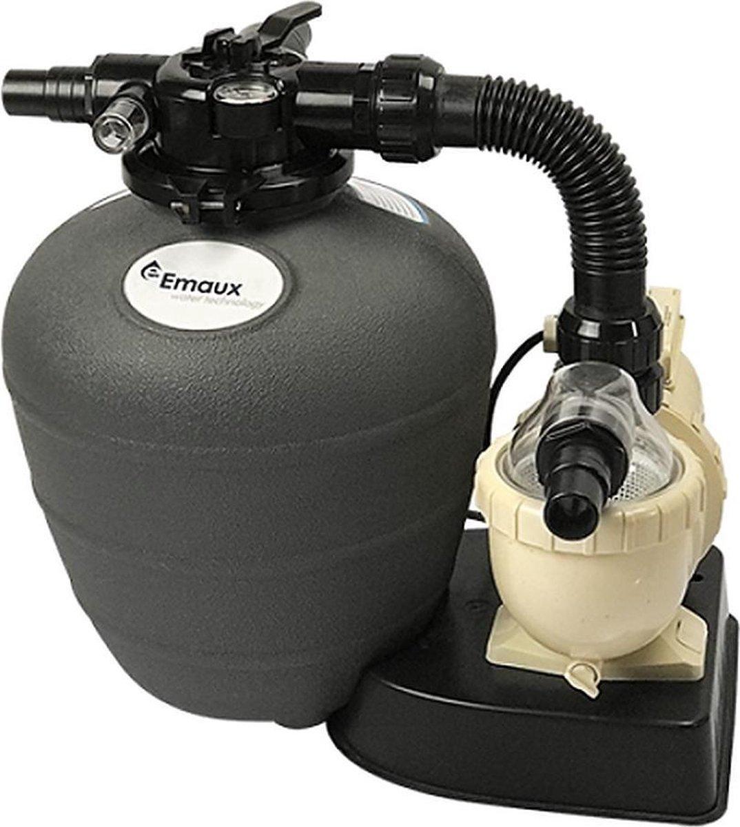 Mini Filter Kit - Zwembadfilter met filterpomp en 4-weg kraan - 8 m³/h