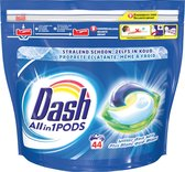 Dash All in 1 Wasmiddel Pods Regular Wit - 2x44 Wasbeurten - Voordeelverpakking
