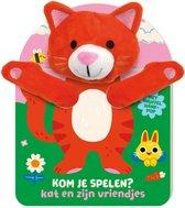 Handpopboek  -   Handpopboek Kom je Spelen? - Kat