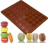 Macaron Bakmat voor 48 macarons - Luxe bakvorm - bakmat - Zelf macarons maken - Siliconen vorm