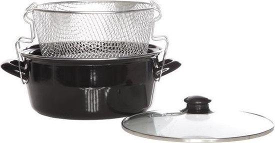 Frituurpan - Met mandje - Geschikt voor inductie