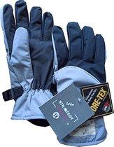 GORE-TEX® Outdoor strategy fiets wandel ski motor handschoen inclusief liners warm en 100% waterdicht blauw Maat S