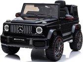 Mercedes G63, 12 volt Kinder Accu Auto, rubberen banden, leder zitje en meer! - Elektrische Kinderauto - met Afstandsbediening
