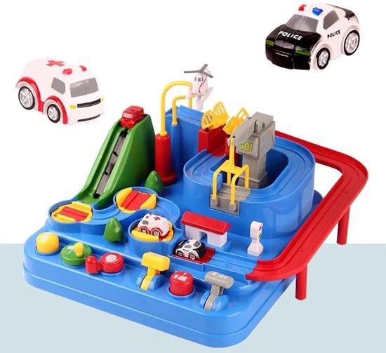 Interactieve Speelgoed Autobaan – Speelgoed Jongens – Speelgoed Meisjes – Racebaan – Speelgoed Auto Politie & Ambulance