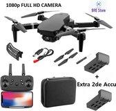 Pocket drone met camera en een opbergtas