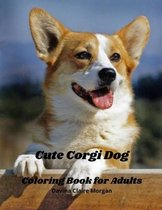Cute Corgi Dog Coloring Book for Adults
