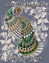 Animals Mandala Coloring book