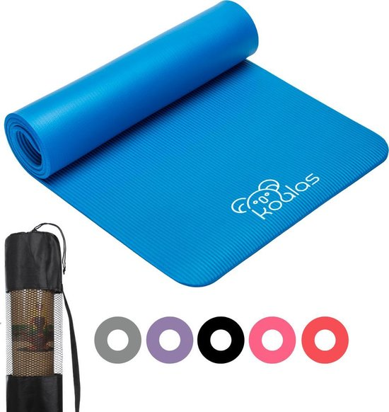 Koalas - Yogamat - Fitness Mat Blauw