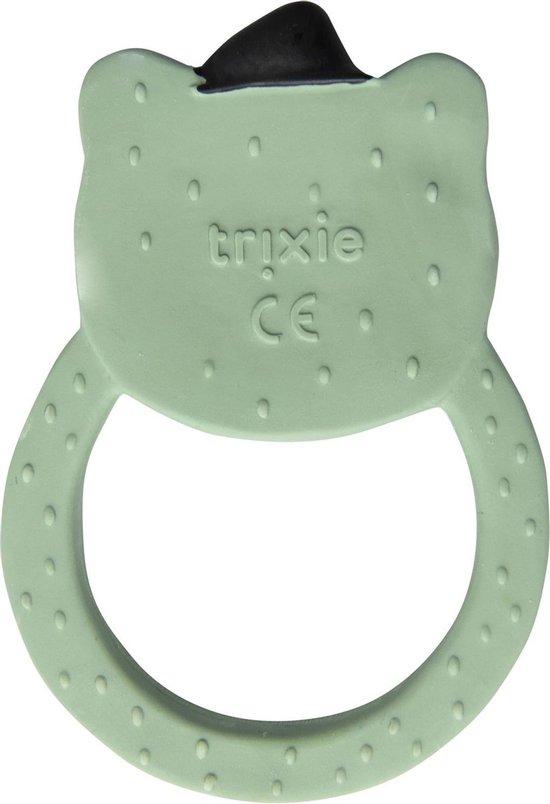 Trixie natuurrubber ronde bijttring   Mr. Polar Bear   Natural Rubber Round Teether   Badspeelgoed