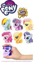 My Little Pony squeezy figuurtje - 1 exemplaar - 5 cm - Top Cadeau 2021