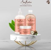 Shea Moisture Coconut & Hibiscus Curl & Shine Care Set - Krullend Haar Verzorgingsset