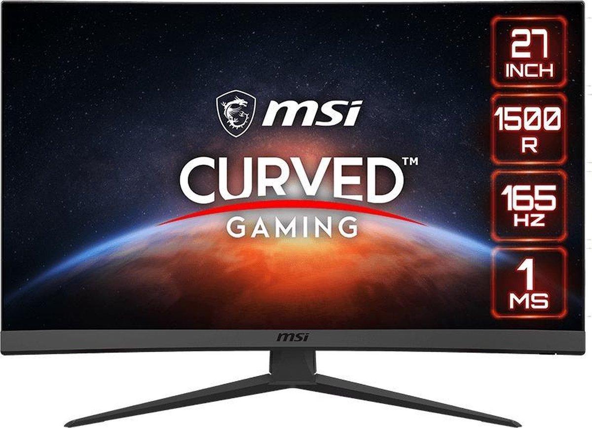 MSI Optix G27C6 – Full HD Curved Gaming Monitor – 165hz