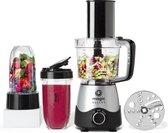 NutriBullet Magic Bullet Kitchen Express – 2-in-1 – Blender met Foodprocessor – Keukenmachine – Zwart – incl. Bekers To Go
