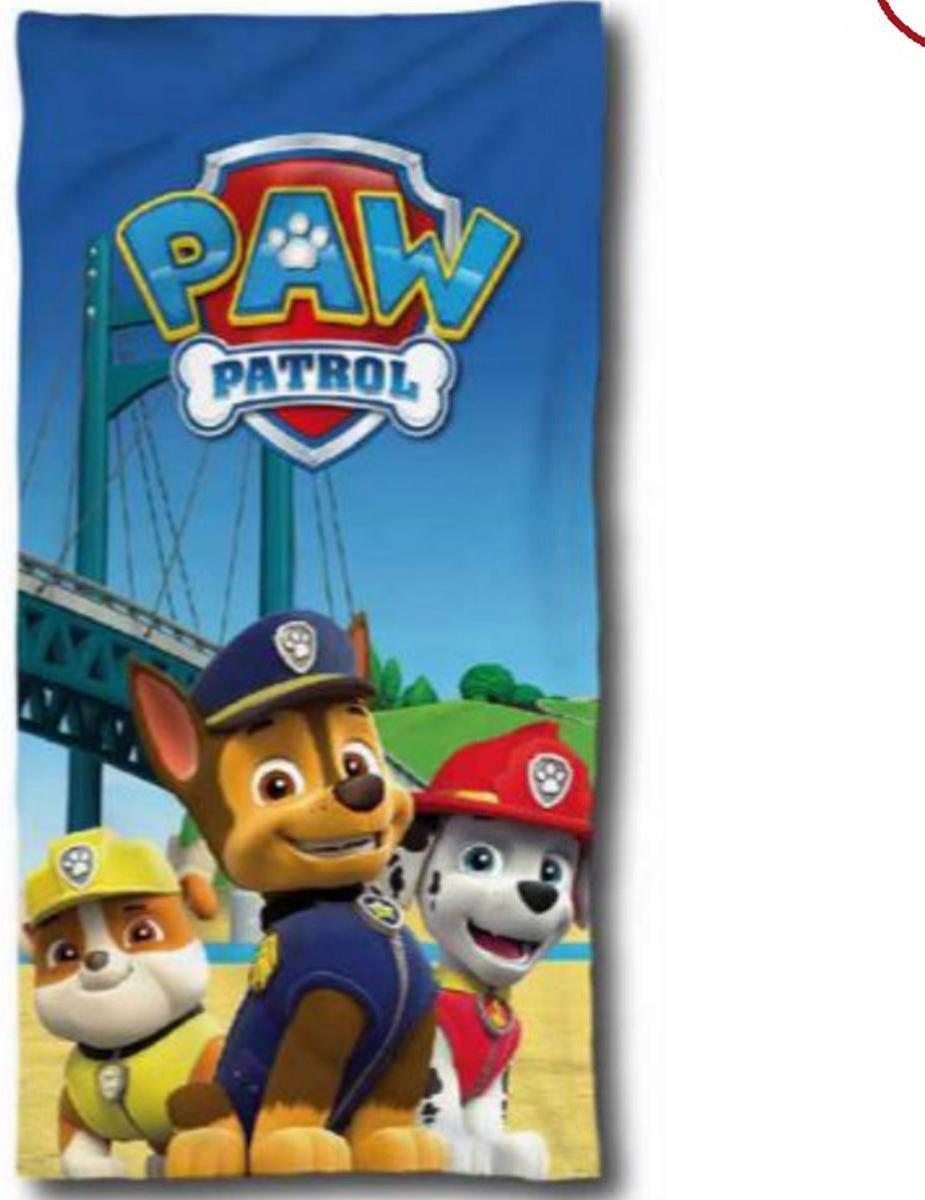 Paw Patrol badhanddoek - 140 x 70 cm. - Paw strandlaken