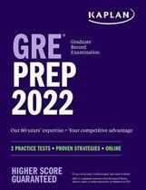 Boek cover GRE Prep 2022 van Kaplan Test Prep
