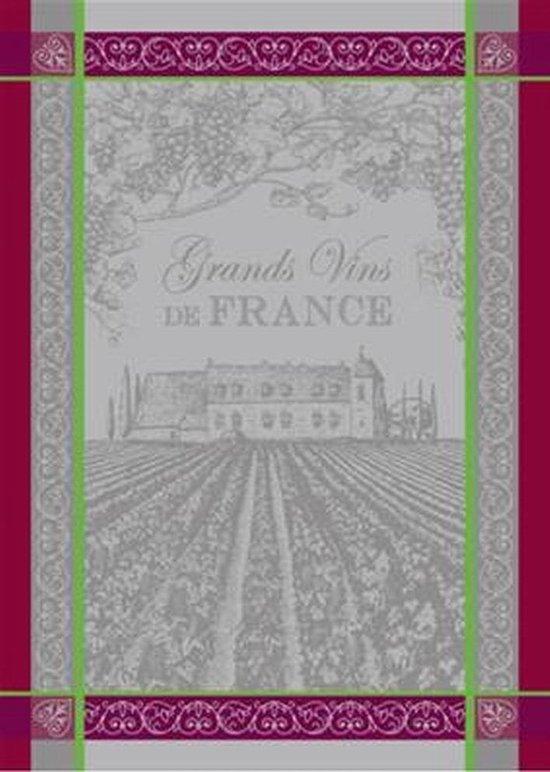 Theedoek Grands vins Set van 2 keukendoeken