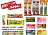 Japans Snoep Box / Kitkat / Poke gum / roulette! /  Umaibo / Jelly Straws / melon cookies